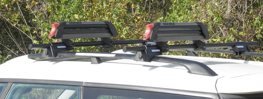 2016 Subaru Outback Wagon Yakima Powderhound Roof Mounted