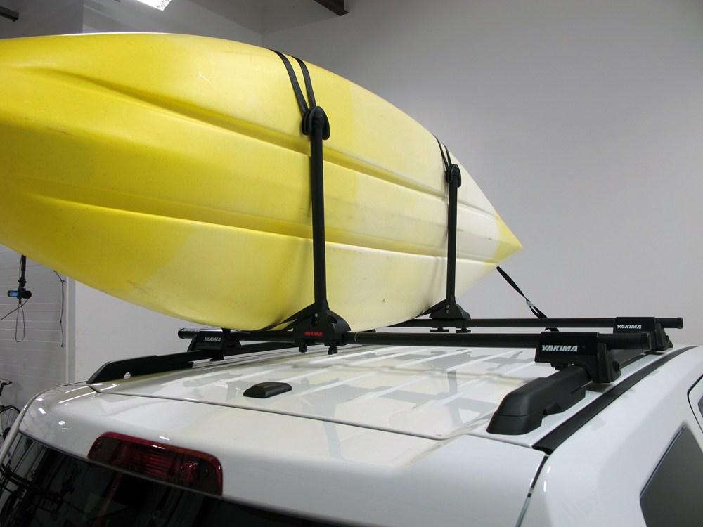 Yakima Kayak Stacker Roof Mounted 2 Kayak Carrier System ...