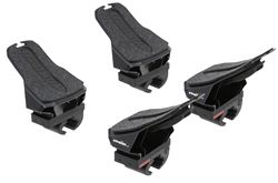 Yakima DeckHand Kayak Carrier with Tie-Downs - Saddle Style - Rear Loading - Clamp On