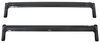 "Rhino-Rack Roof Rack System w/ 2 Sportz Crossbars - Fixed Mount - Black - 44"" Long Aluminum Y05-460"