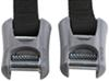 yakima cinch straps truck bed 11 - 20 feet long w/ padded cam buckles 16' qty 2