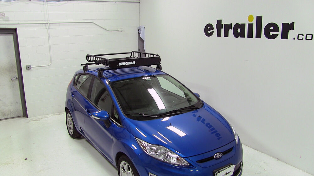 Ford Fiesta Yakima Loadwarrior Roof Rack Cargo Basket