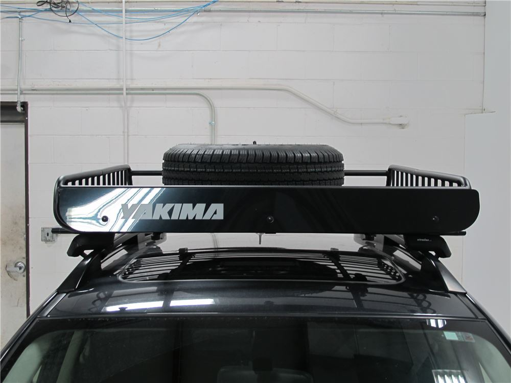 ad4d3aec0f3c Spare Tire Carrier for Yakima Roof Cargo Baskets - Lockable Yakima ...
