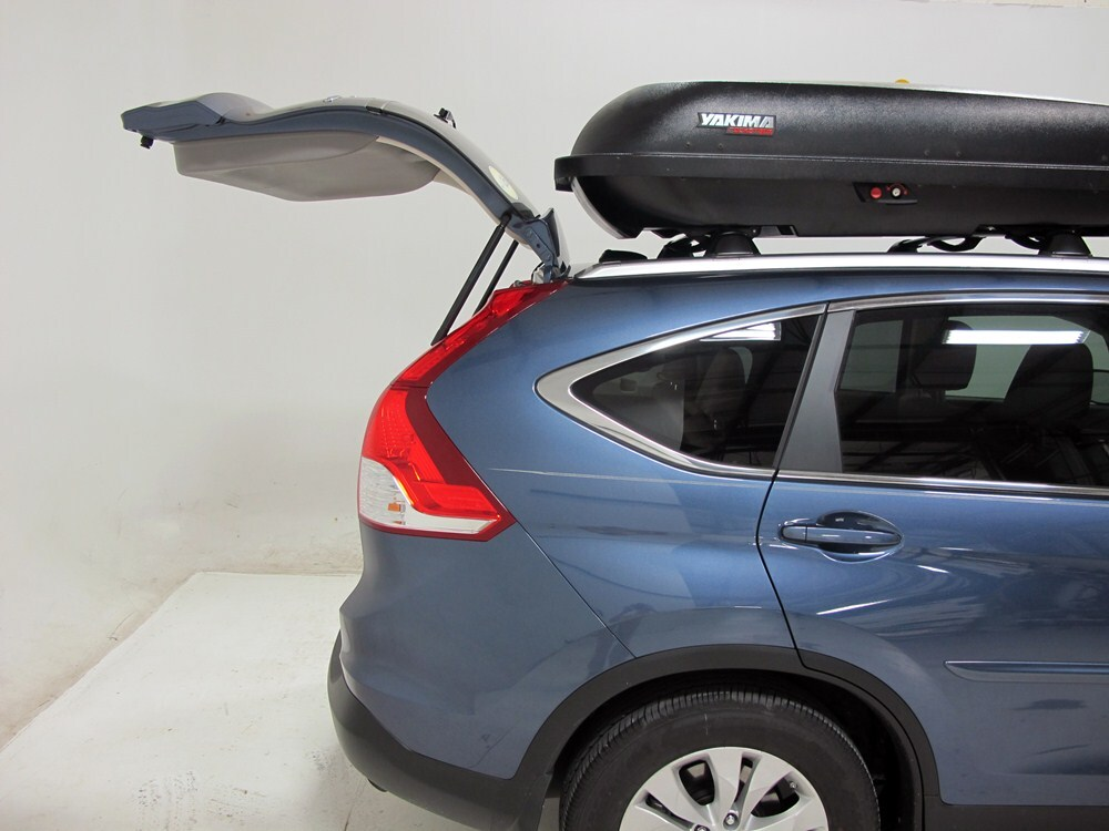 2014 Honda Cr V Yakima Rocketbox Pro 14 Rooftop Cargo Box 14 Cu Ft Black