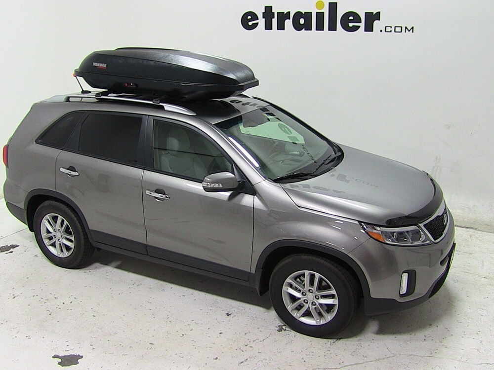 2014 kia sorento yakima rocketbox pro 14 rooftop cargo box. Black Bedroom Furniture Sets. Home Design Ideas