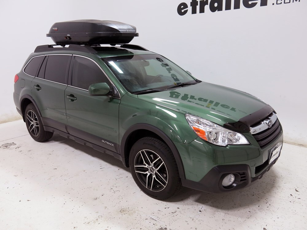 2015 Subaru Outback Wagon Yakima Rocketbox Pro 14 Rooftop