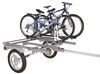 66 Inch Yakima Rack and Roll Trailer  with Bikes