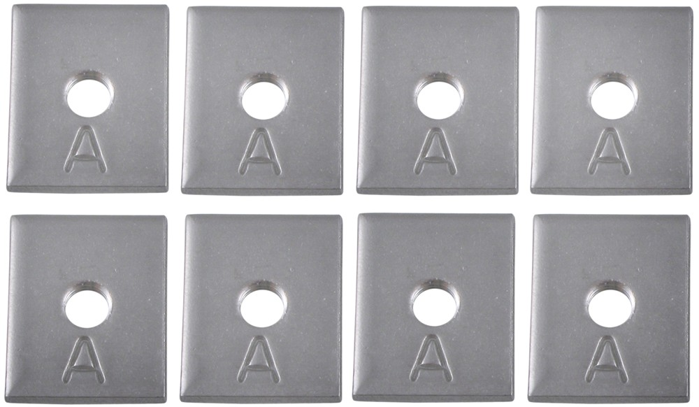 New Yakima anchor plates for track systems A plates set of eight 8810074