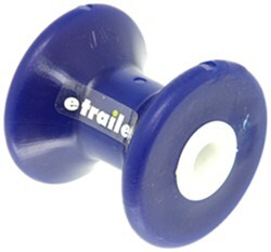 "Yates Bow Roller for Boat Trailers - TPR - 3"" Long - 1/2"" Shaft - Blue"