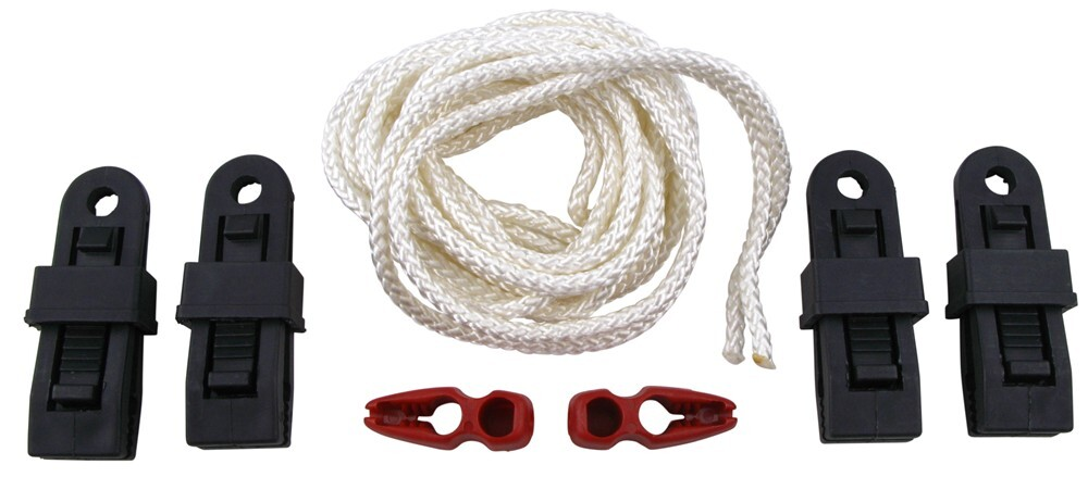 Covercraft Gust Guard Adjustable Security Ropes w/ Clamps for Vehicle Covers - 7' Long Security Ropes ZGGARD